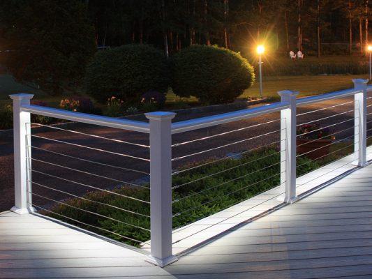 LED Under Rail Deck Lighting 1